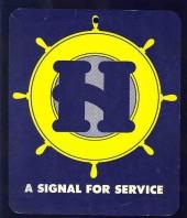 Helms placard