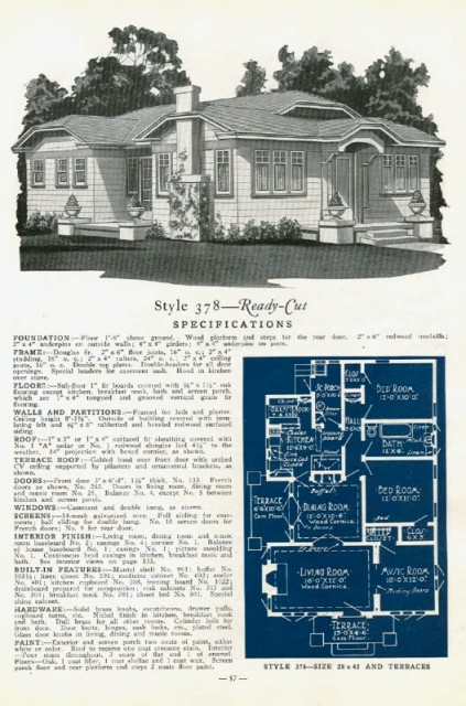 California Bungalows In The Mail When Pacific Ready Cut